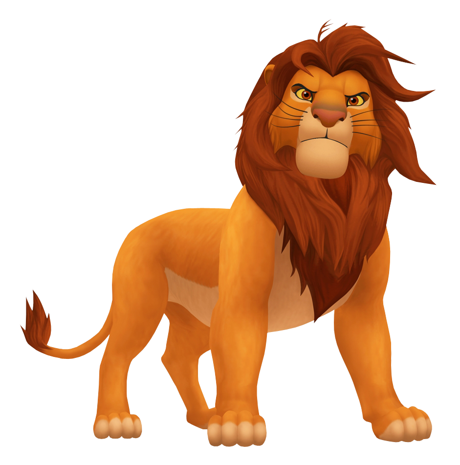 jpg black and white download simba transparent character #103095053
