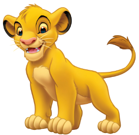 svg freeuse library simba transparent little #103096411