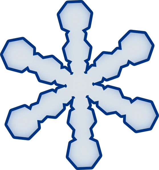 png freeuse download Simple Snowflake Clipart