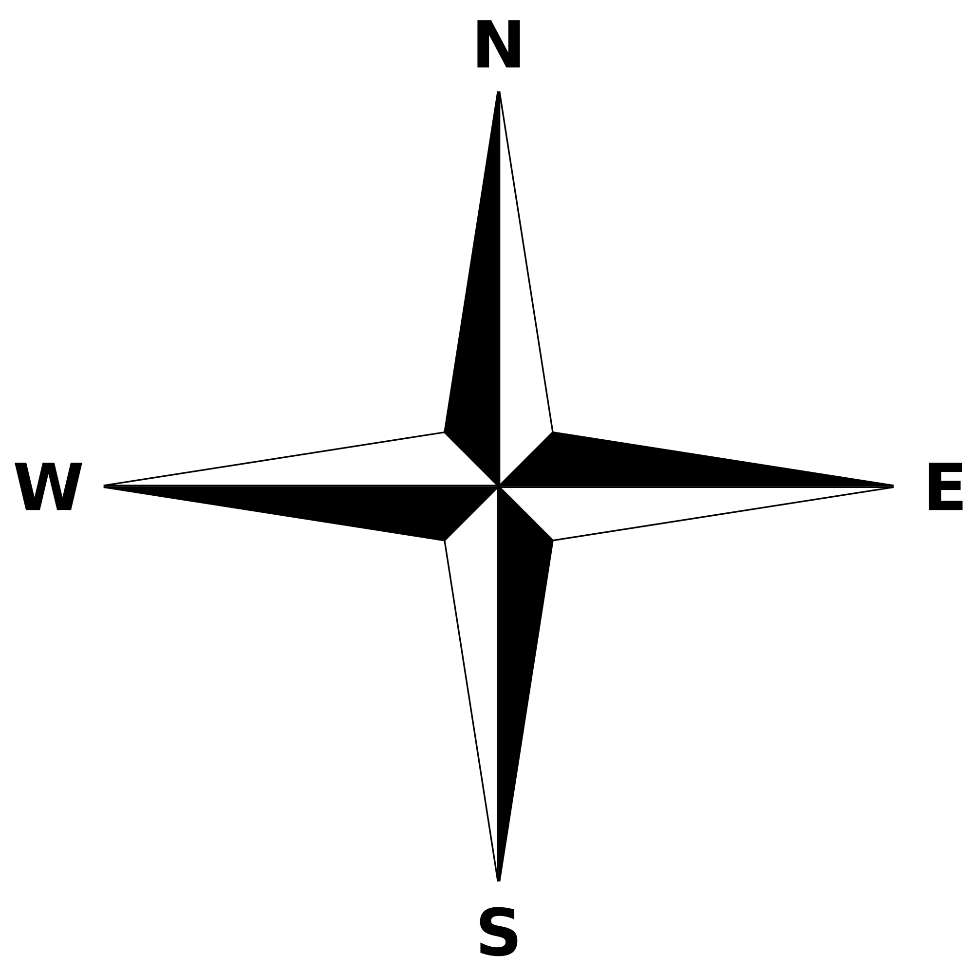 png black and white transparent compass simple #116688046