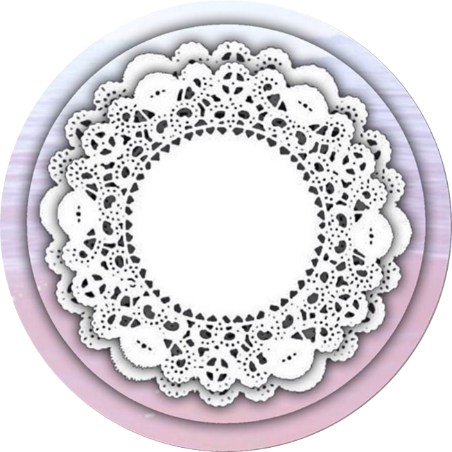 clipart transparent stock Icon circle new pastel. Simple lace patterns clipart.