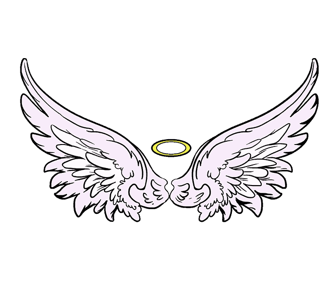 picture stock Simple Wings Drawing at GetDrawings
