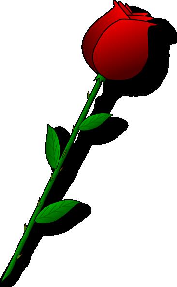jpg royalty free download Clip art panda free. Single rose clipart