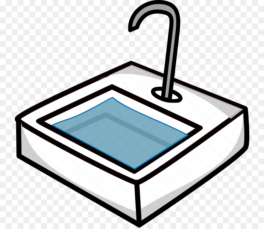 clipart royalty free Sink clipart. Kitchen cartoon product line