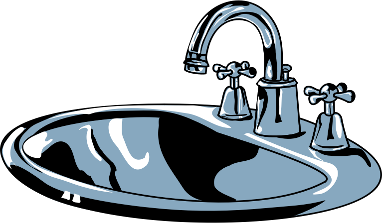svg royalty free stock  collection of high. Kitchen sink clipart