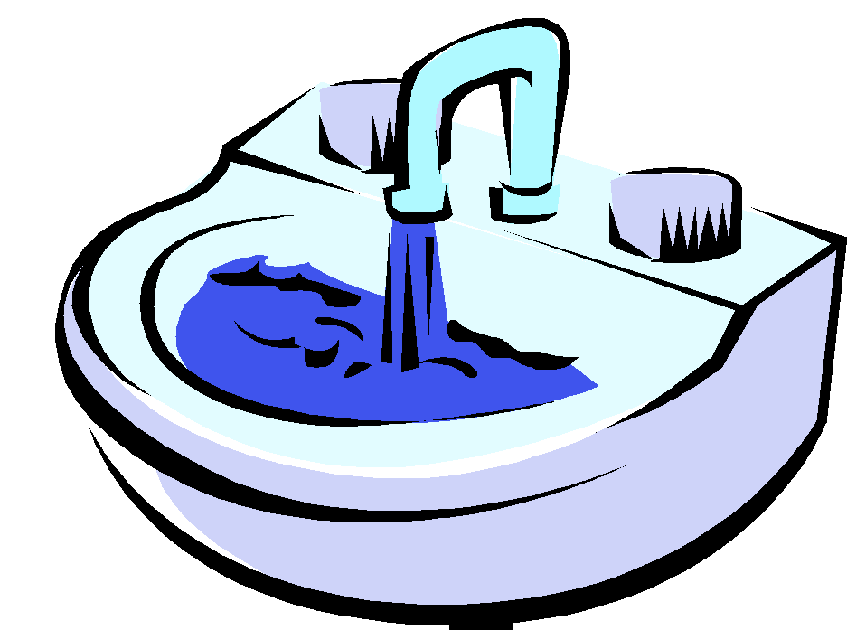 image transparent stock Sink . Faucet clipart black and white