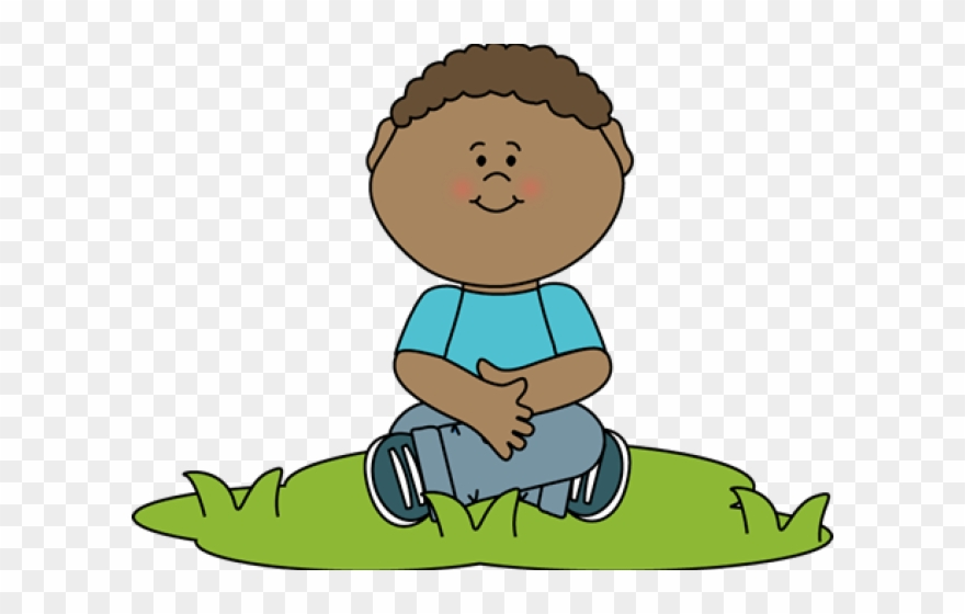 image royalty free download Boy sitting down png. Sit clipart.