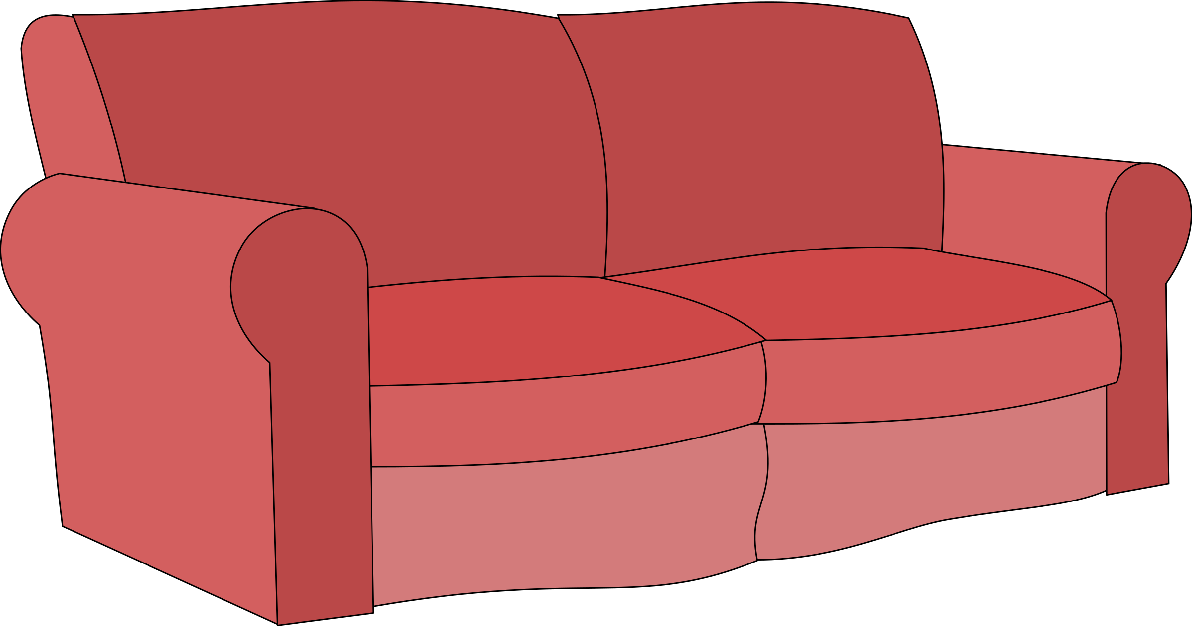 clip art transparent stock Couch Clipart clip art
