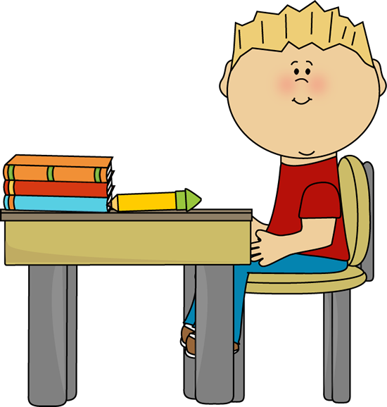 picture royalty free library desk work clipart #62185931