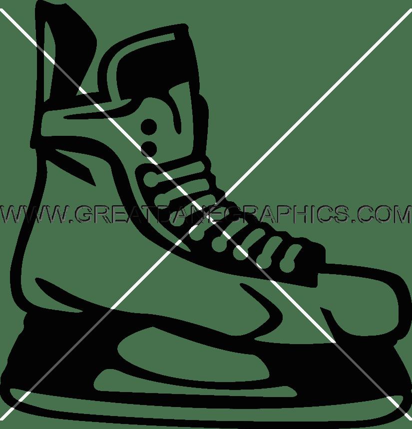 vector library library Hockey Skates