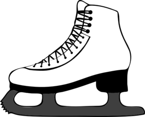 graphic freeuse Ice Skating Clip Art at Clker