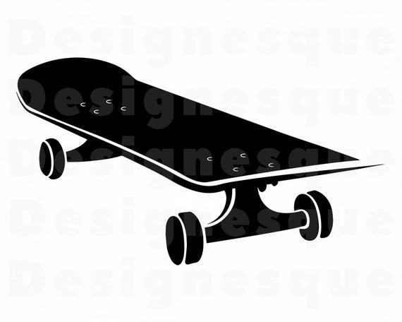 clip art download Skateboard clipart. Svg skateboarding files for.