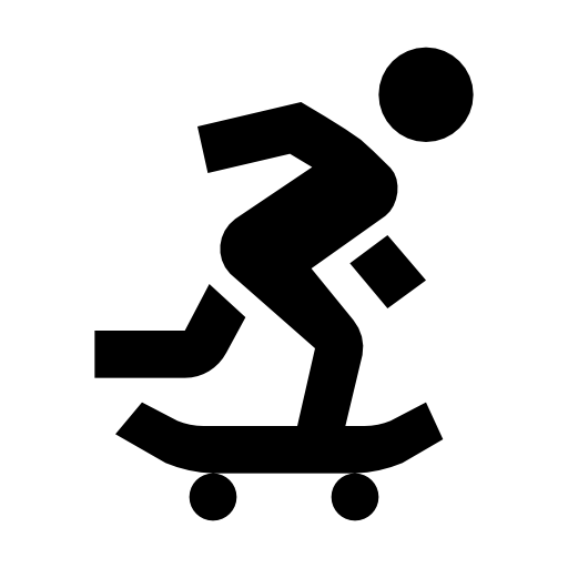 clip black and white download Symbol Computer Icons Skateboarding