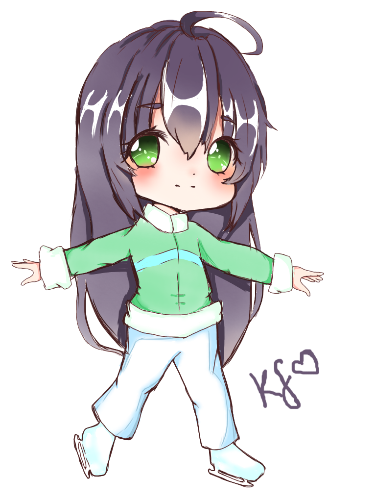 banner stock skater drawing chibi #103127300