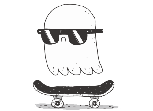 banner transparent download skate ghost