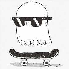 svg free stock skateboarding drawing spirit #140233234