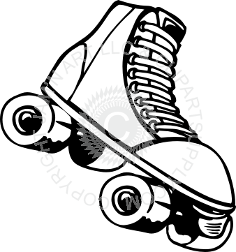 svg royalty free stock Roller Skate Drawing at GetDrawings