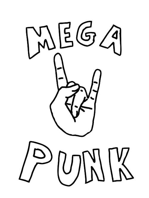 image royalty free download Mega punk