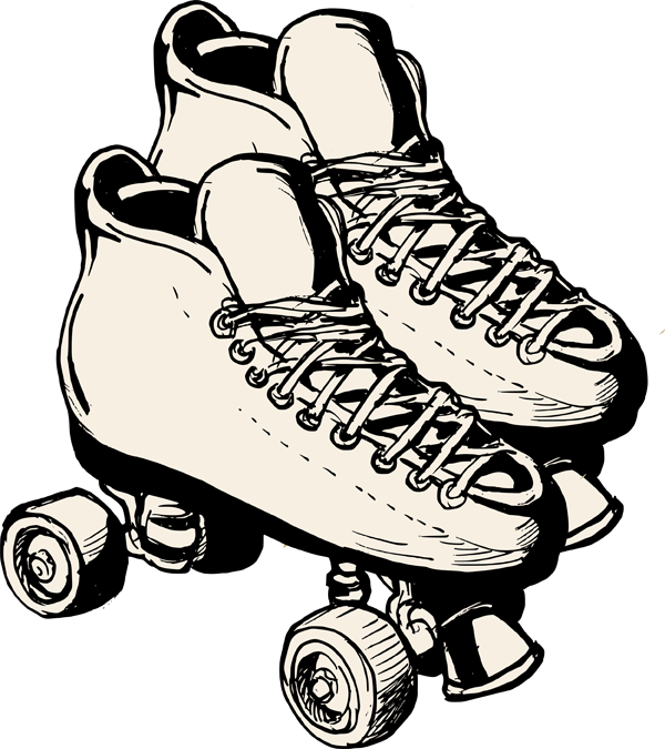 picture Roller clipart. Pair skates .