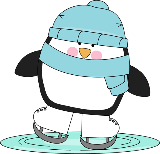 picture freeuse Penguin skating on ice