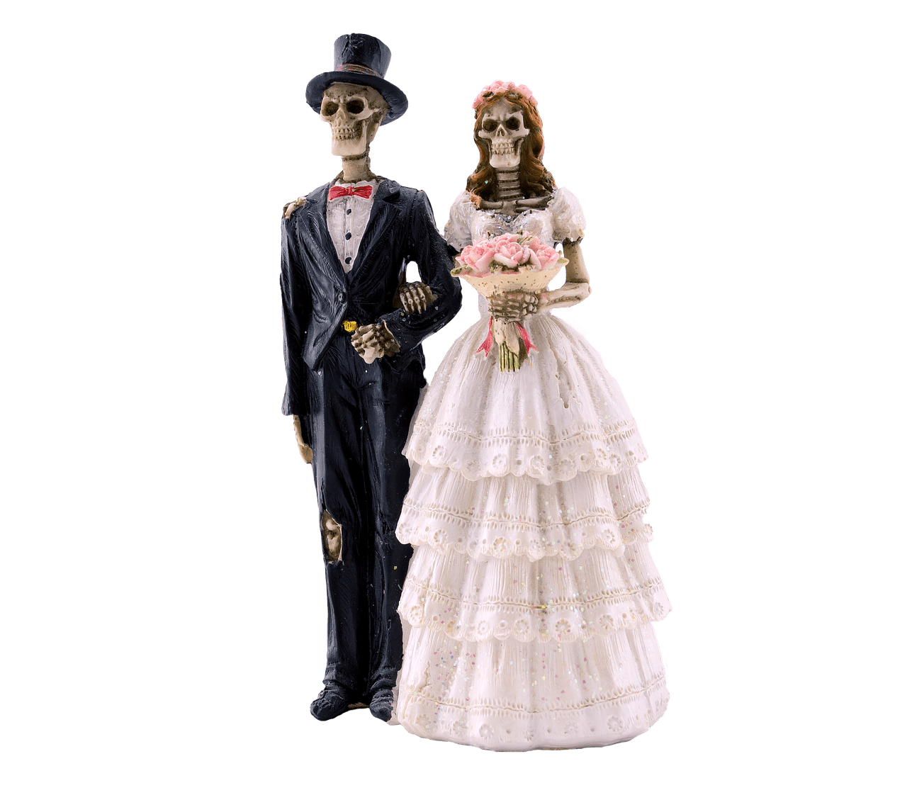 picture black and white library Skeleton bride and groom clipart. Transparent png stickpng download.