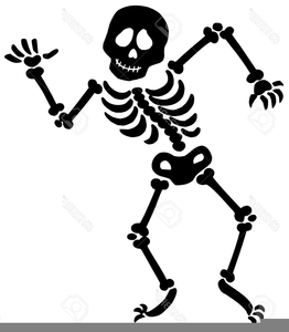 banner black and white download Free dancing images at. Skeleton clipart.