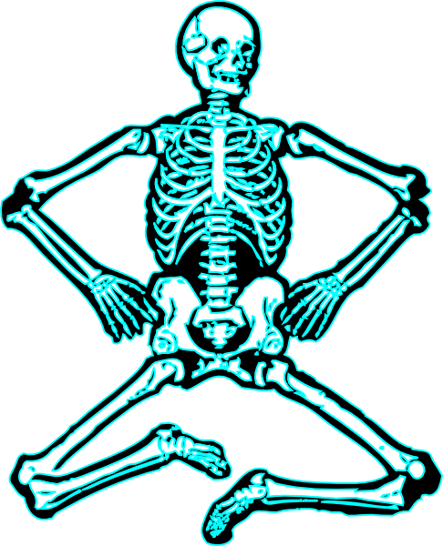 clip download Free at getdrawings com. Skeleton clipart black and white