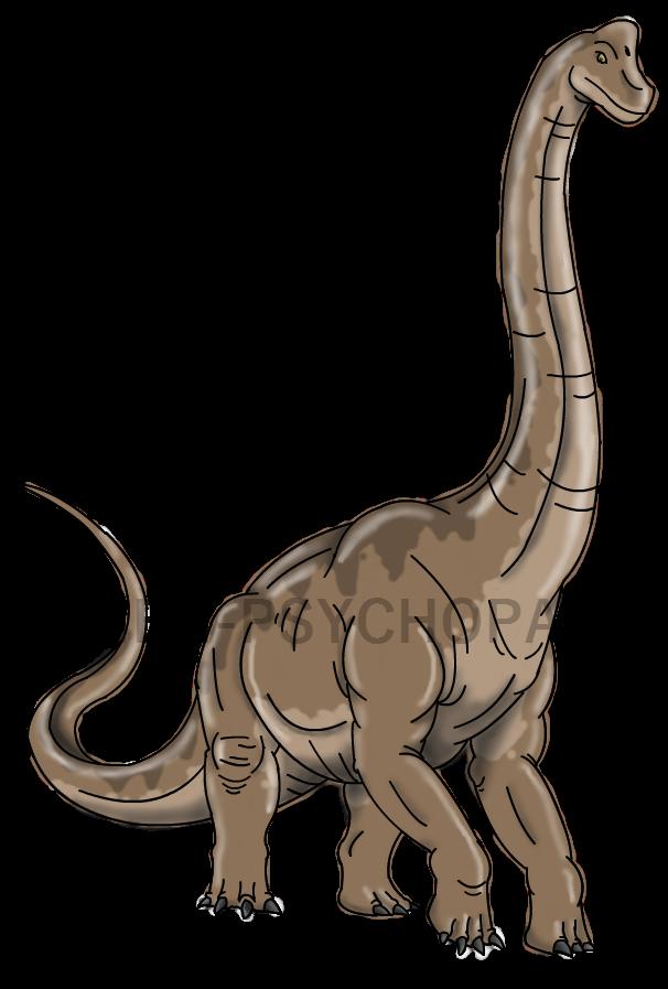 royalty free library Brachiosaurus Drawing at GetDrawings