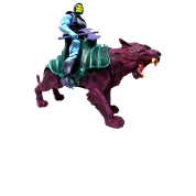 vector library Skeletor Panthor Moty He Man by kuse