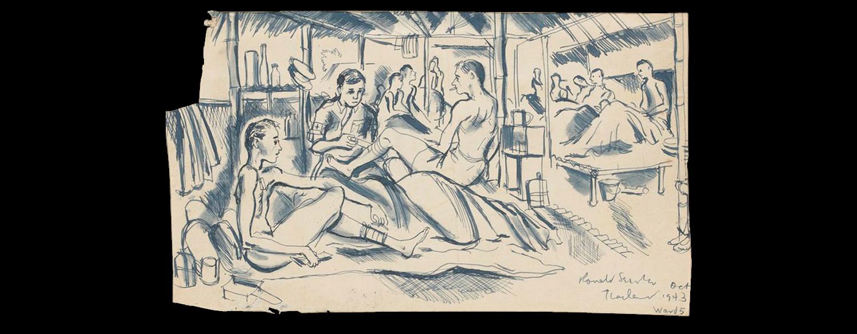 image royalty free download Sketchbook drawing. Illustration chronicles ronaldsearlewardoctoberillustrationchroniclespng