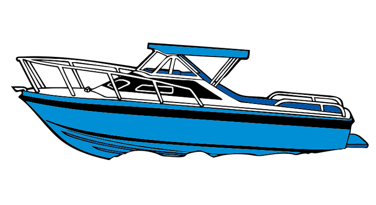 graphic royalty free download Yacht clipart motor. Boat ski transparent free