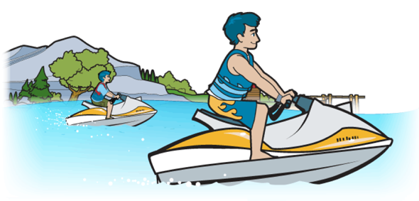 png royalty free Boating jet boat free. Yacht clipart powerboat