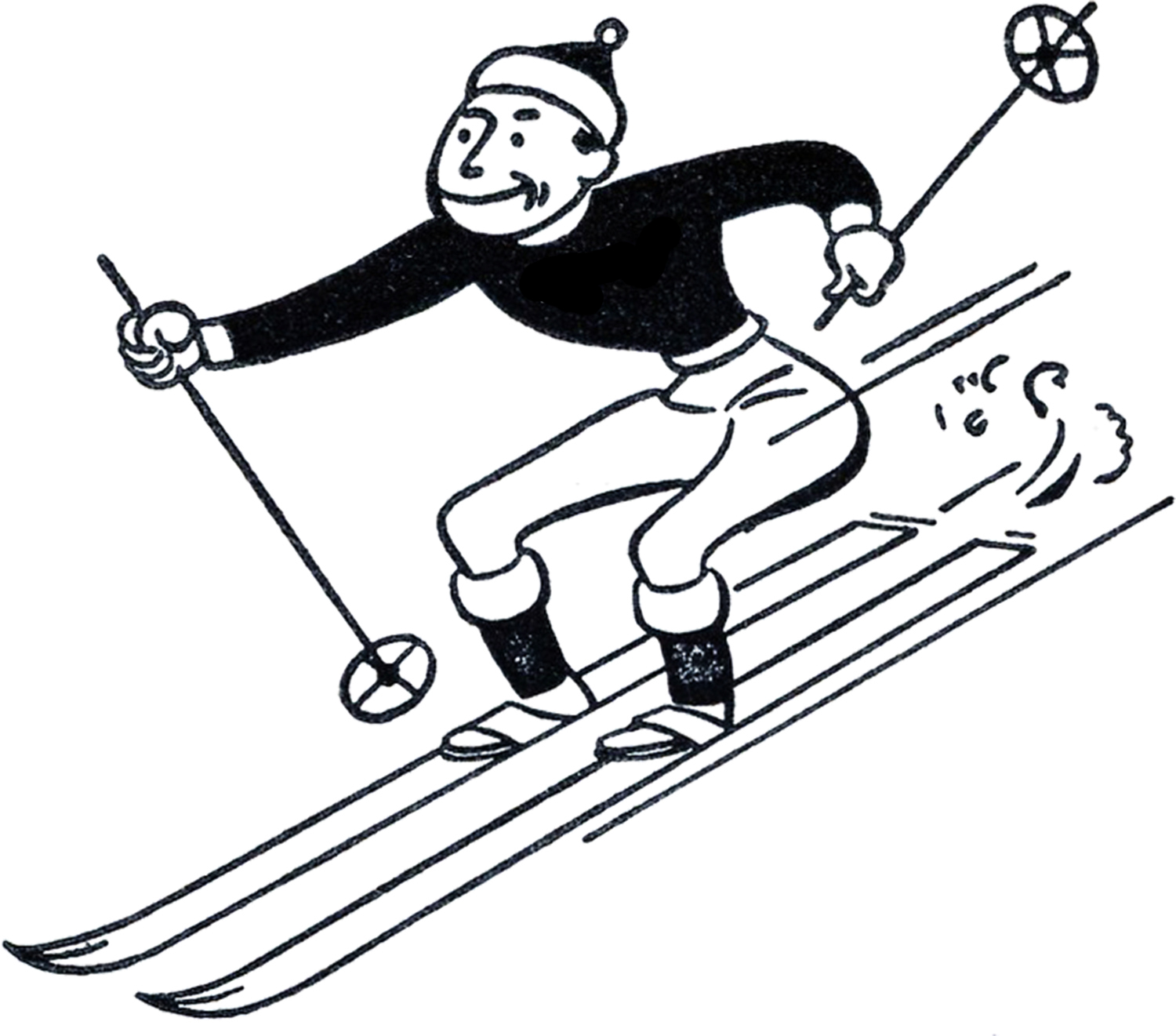 clipart transparent stock Free images skiing download. Ski clipart.