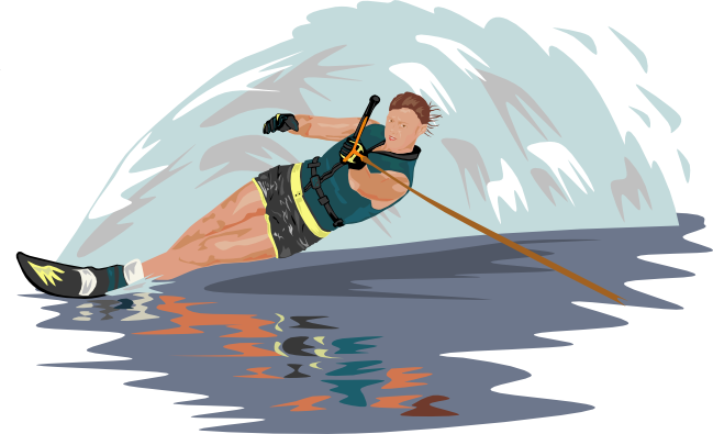 vector library Free Water Sports Clipart