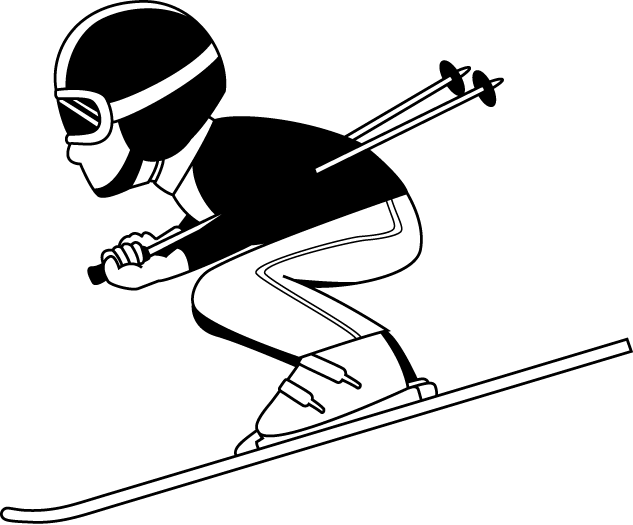 png royalty free Ski Clipart guy