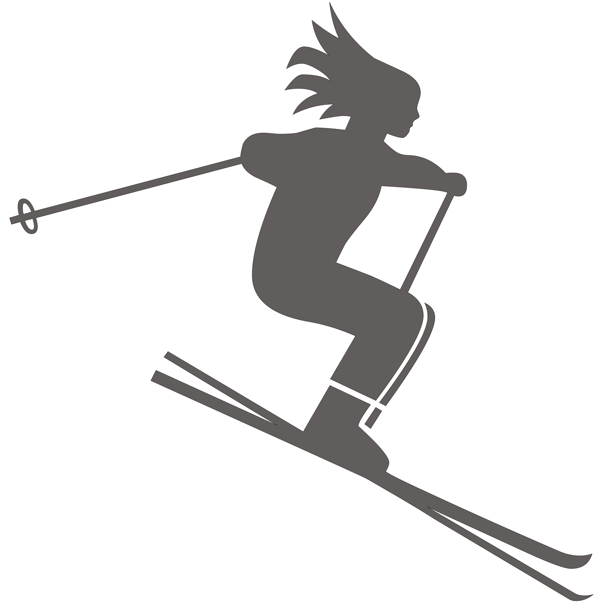 banner transparent Skiing PNG images free download