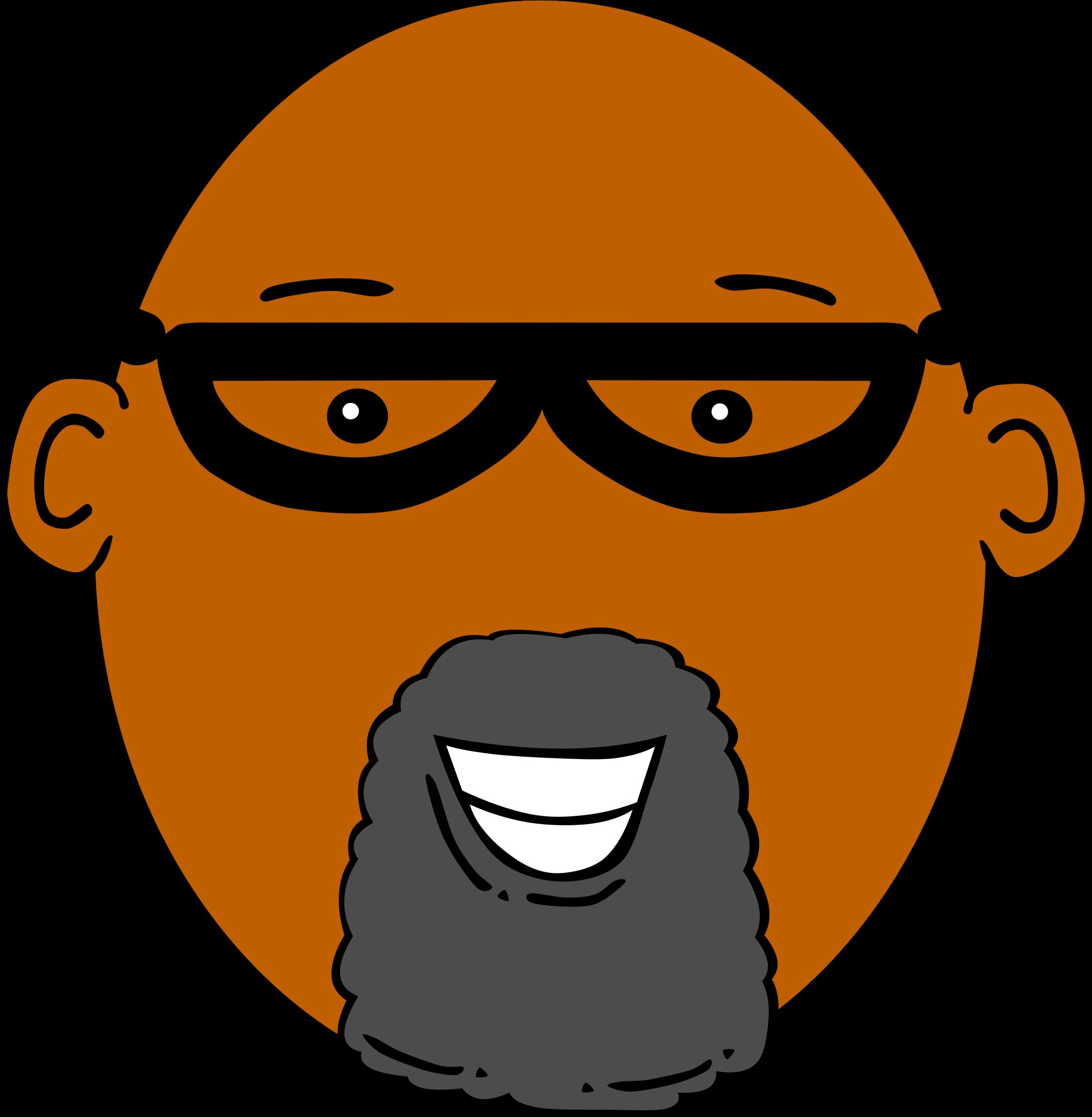 image free Grandpa clipart comic. With dark skin big