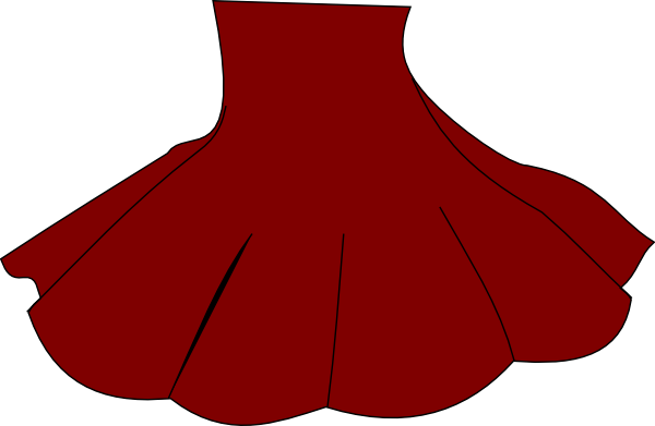 image transparent Skirt Red Clipart transparent PNG