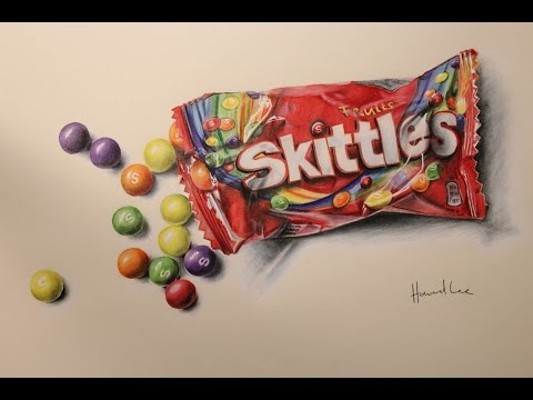 clip art freeuse download Skittles drawing. Time lapse
