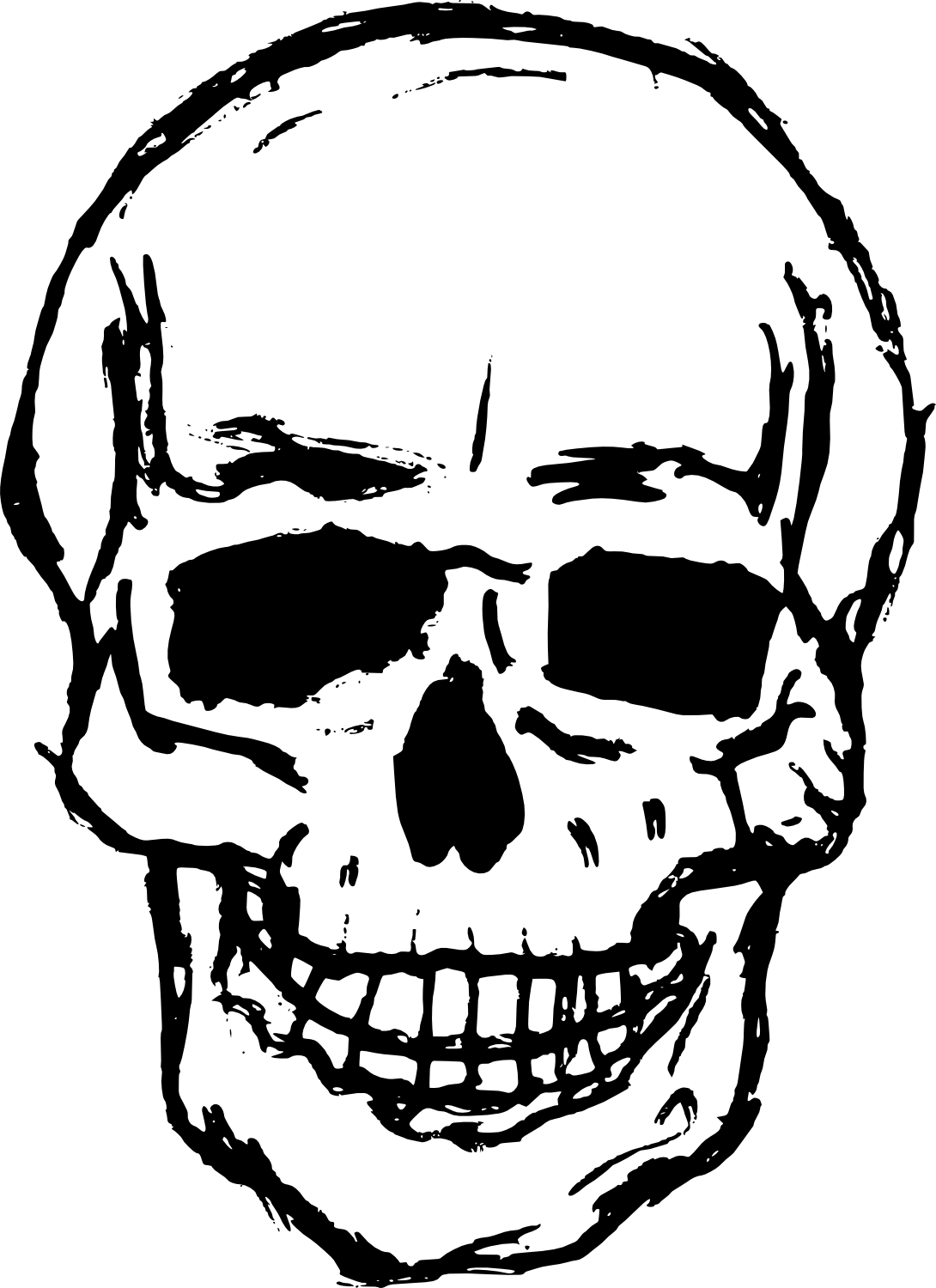 png free library Drawing images at getdrawings. Vector cracks skull crack