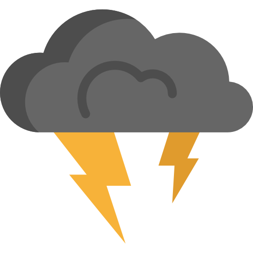 banner royalty free download thunderbolt clipart storm cloud #51529409