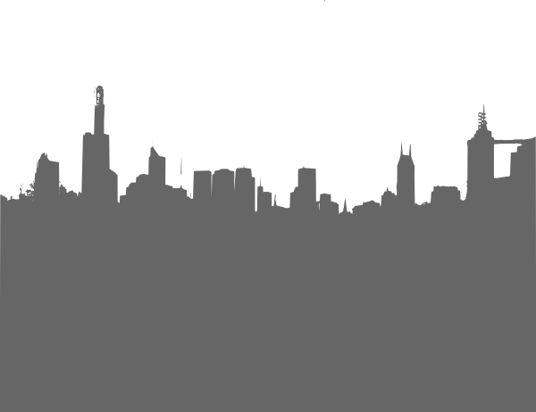 picture library Gray City Skyline Clip Art at Clker