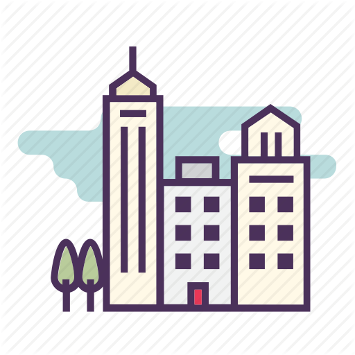 vector library download City buildings