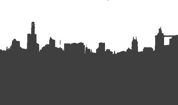 clip transparent stock Buildings Grey City Clip Art at Clker