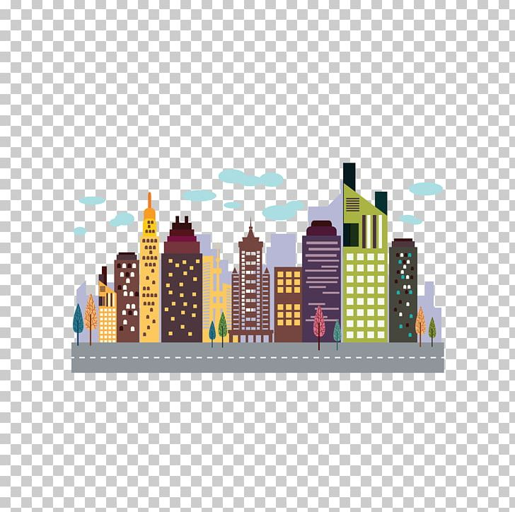 image free download High rise png . Skyscraper clipart colorful building.