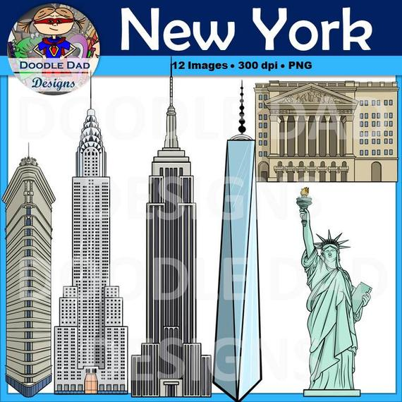 royalty free library New york city building. Skyscraper clipart nyc.