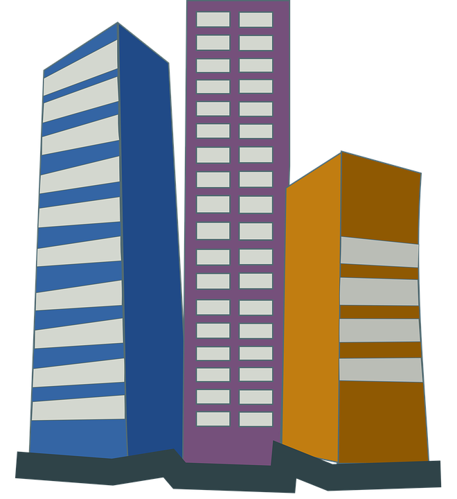 jpg transparent download Skyscraper Clipart Corporation Building Free collection