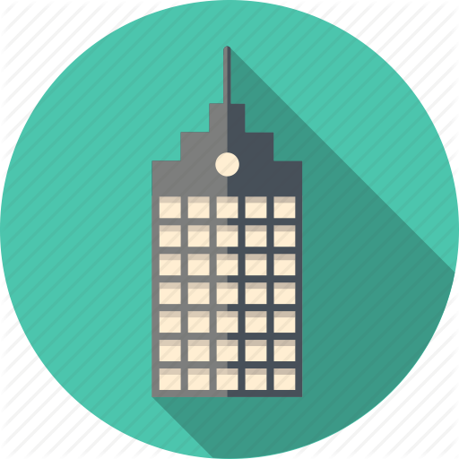 svg royalty free Drawing free icons and. Skyscraper vector.