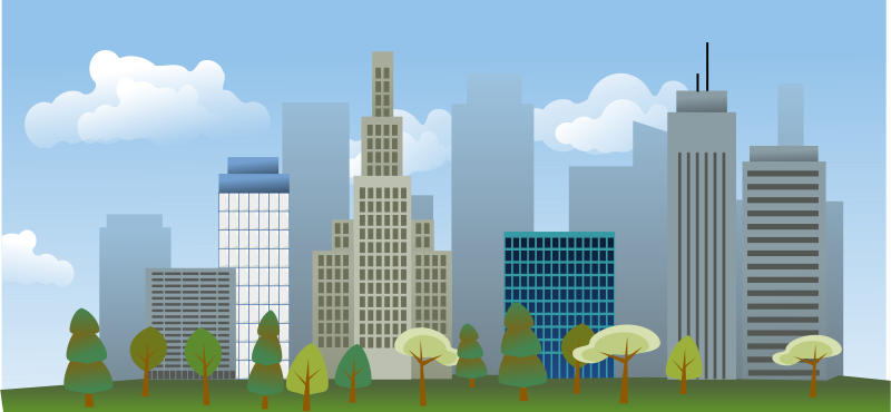 clipart download Free city skyline PSD files