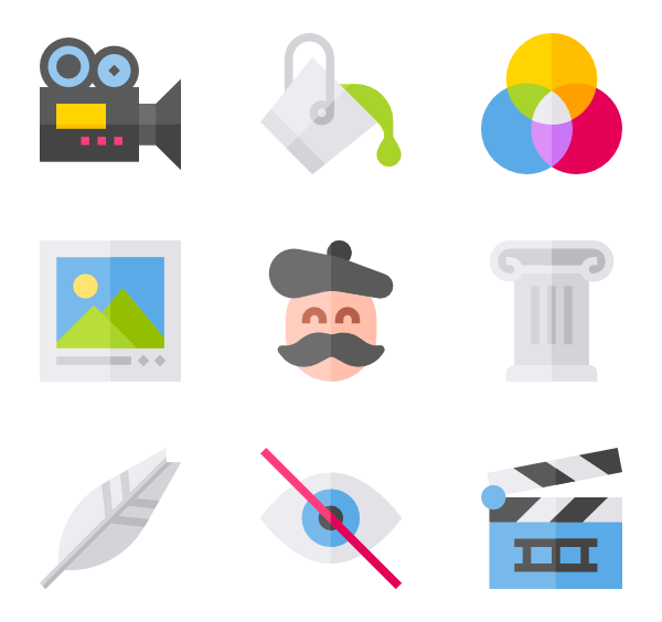 clip art library Paint Icons